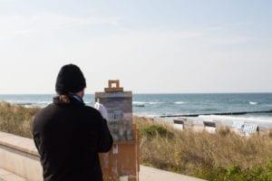 Freies-Malen-am-Strand-von-Kühlungsborn-im-Rahmen-des-Plein-Air-Festivals-c-FRank-Koebach-14