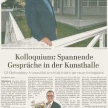 Ostsee-Zeitung 06.01.2017 - Kolloquium