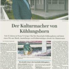 Ostsee-Zeitung 25.06.2016 - Kulturmacher