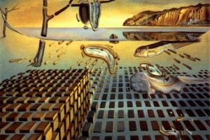 Salvador Dali - The disintegration of the persistence of memory